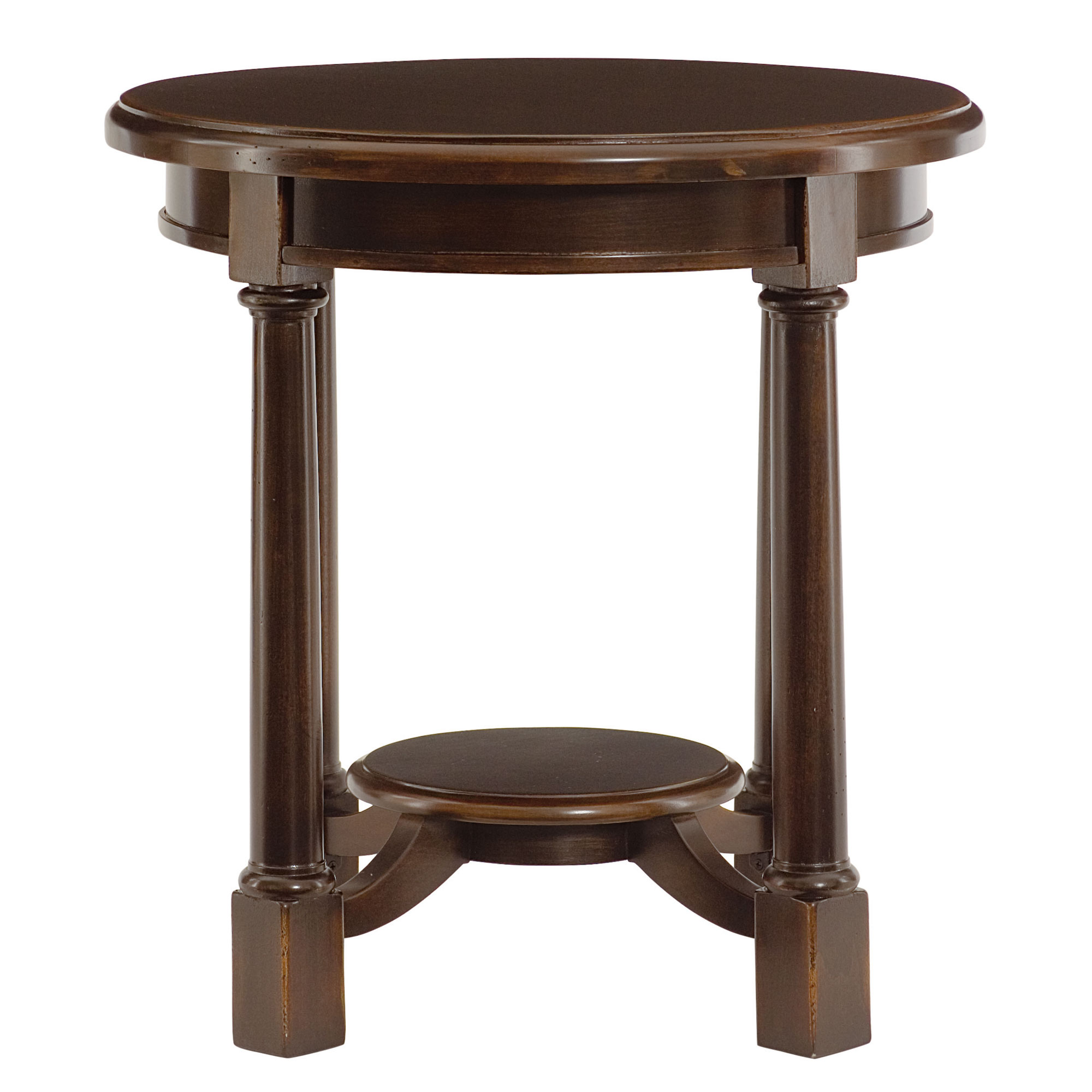 Round side table bernhardt for Side table