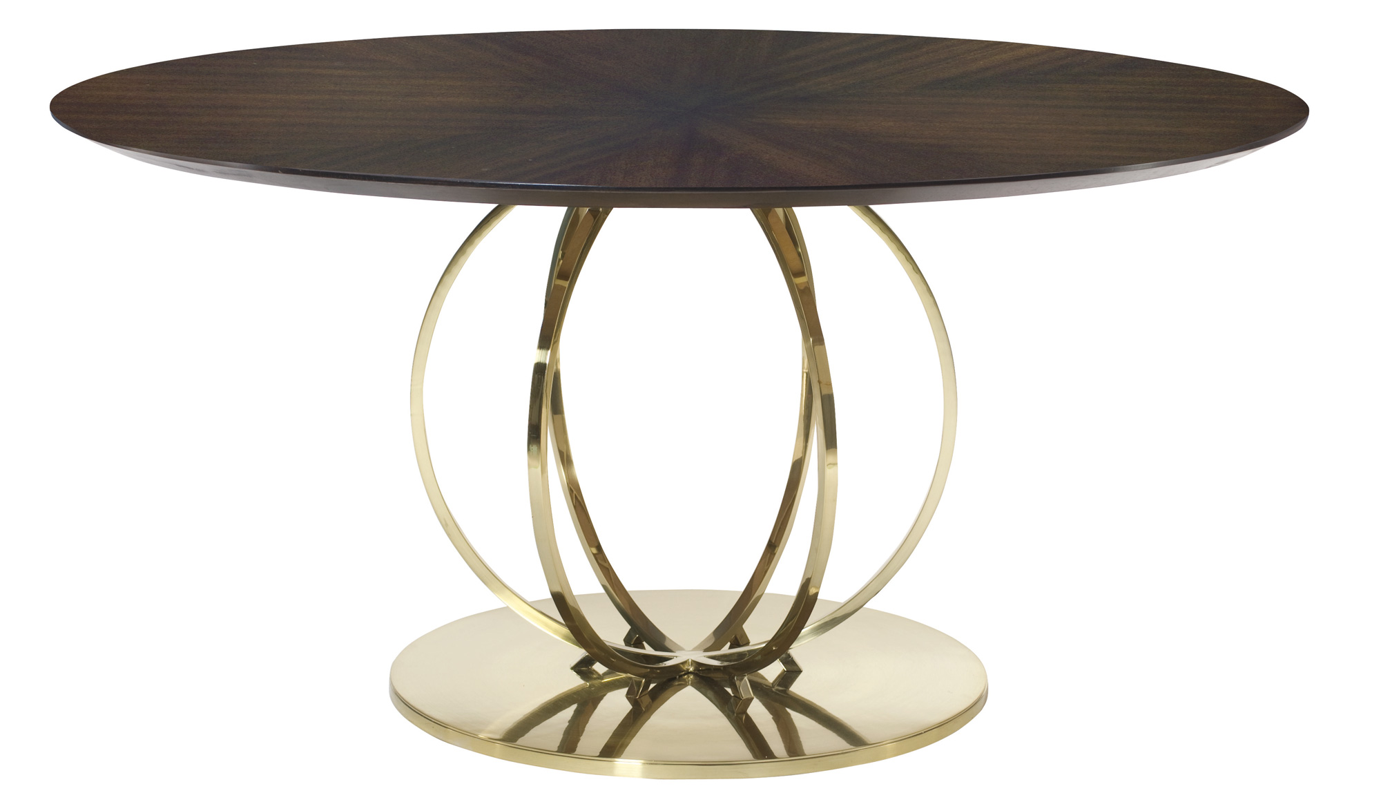 Round dining table bernhardt Round dining table set