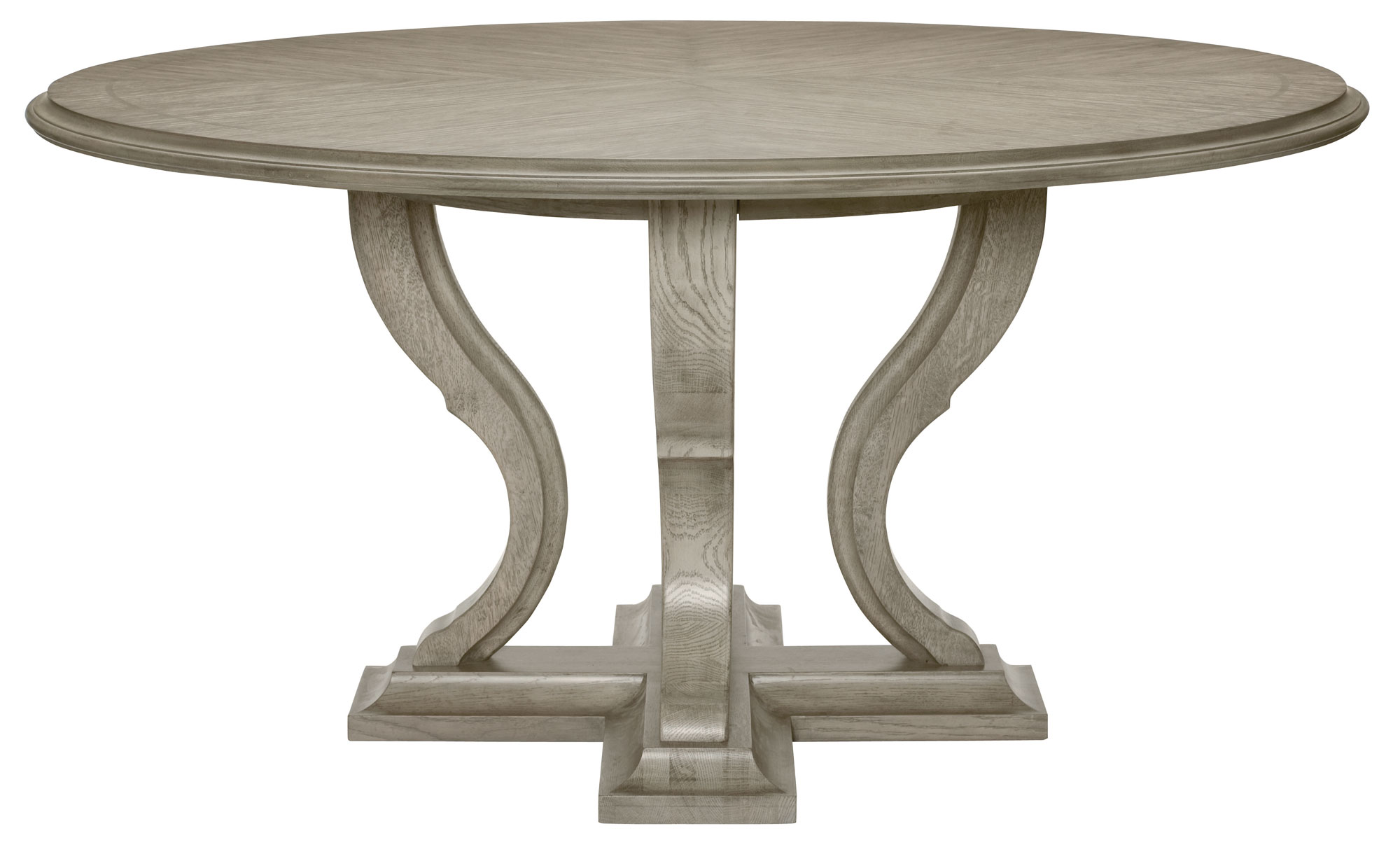 Round dining table bernhardt for Furniture dining table
