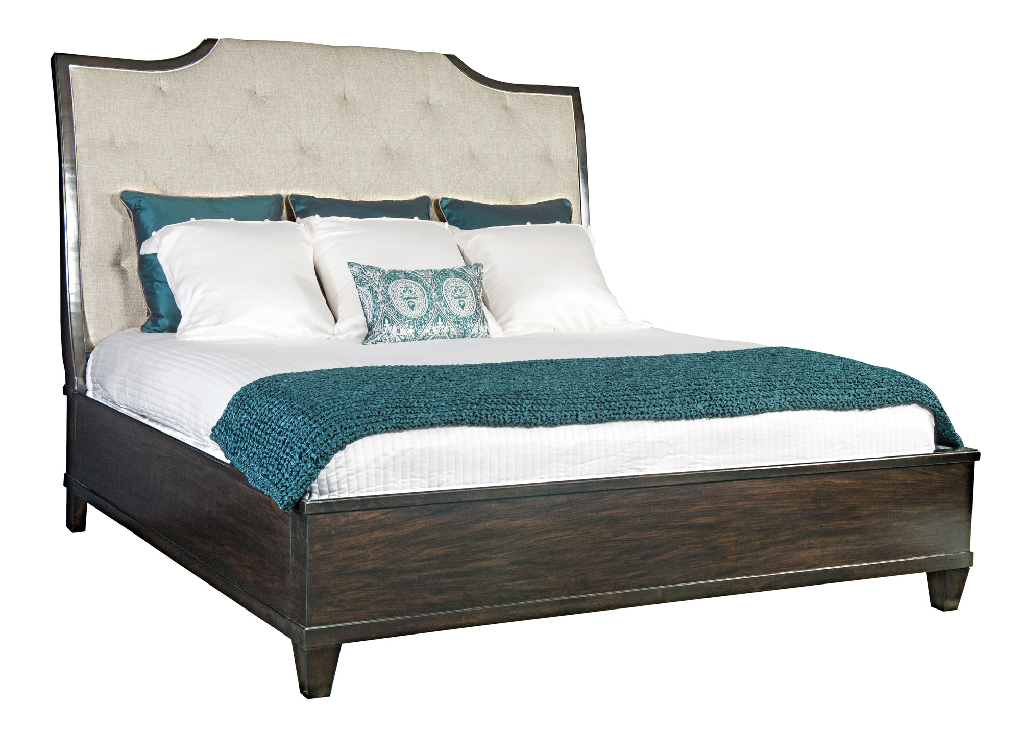 Upholstered Sleigh Bed Bernhardt