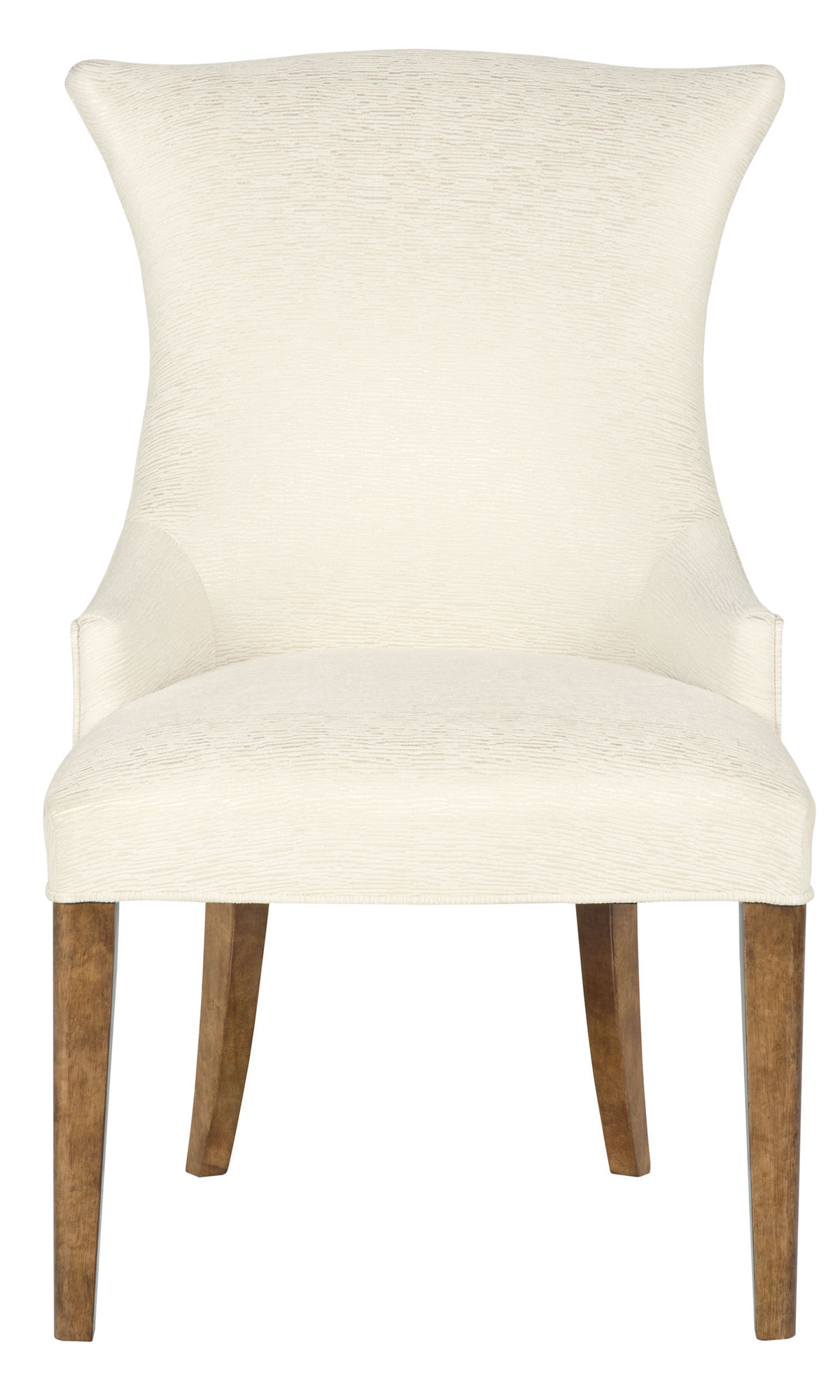 Upholstered arm chair bernhardt for Upholstered dining chairs with arms