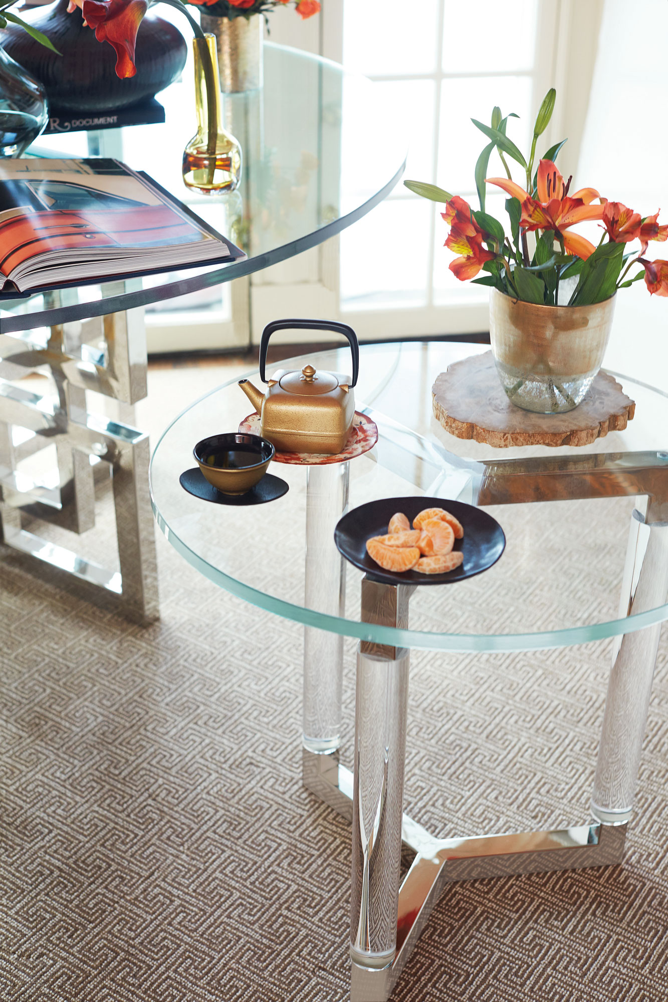 Round End Table Bernhardt