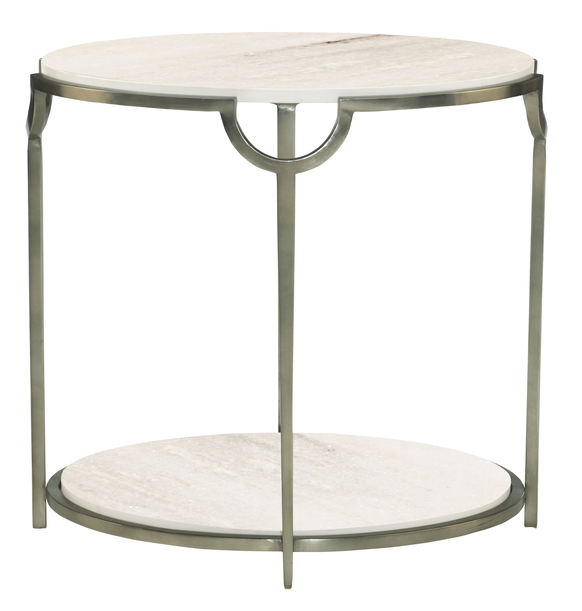 Oval end table bernhardt