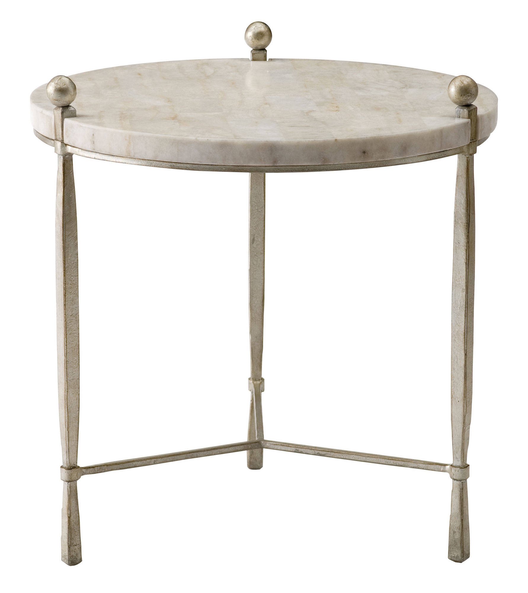 Round chairside table bernhardt for Chairside table