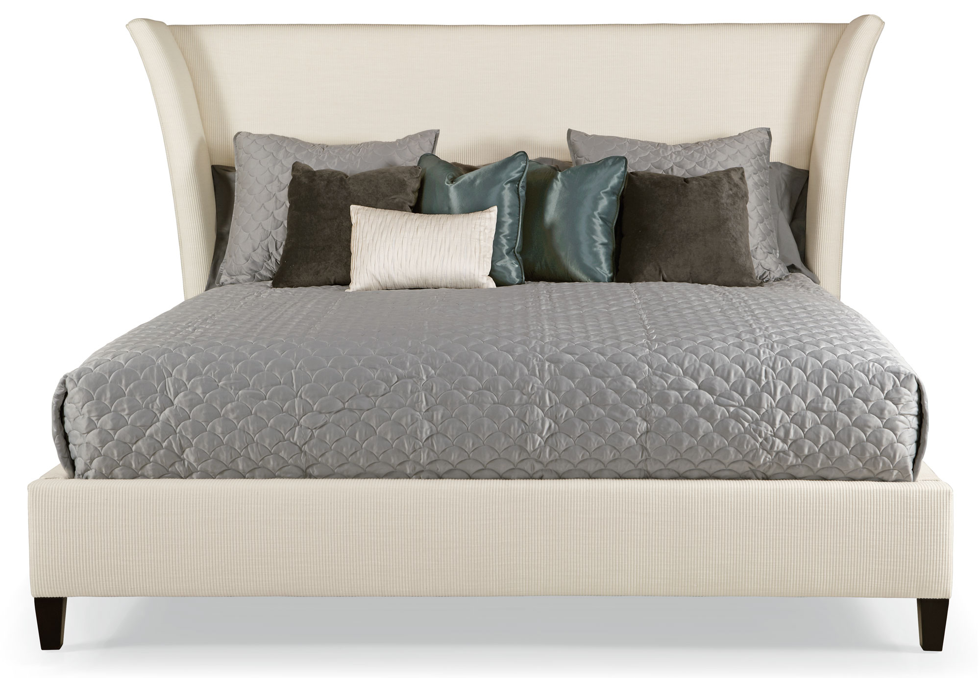 Flare Upholstered Bed Bernhardt