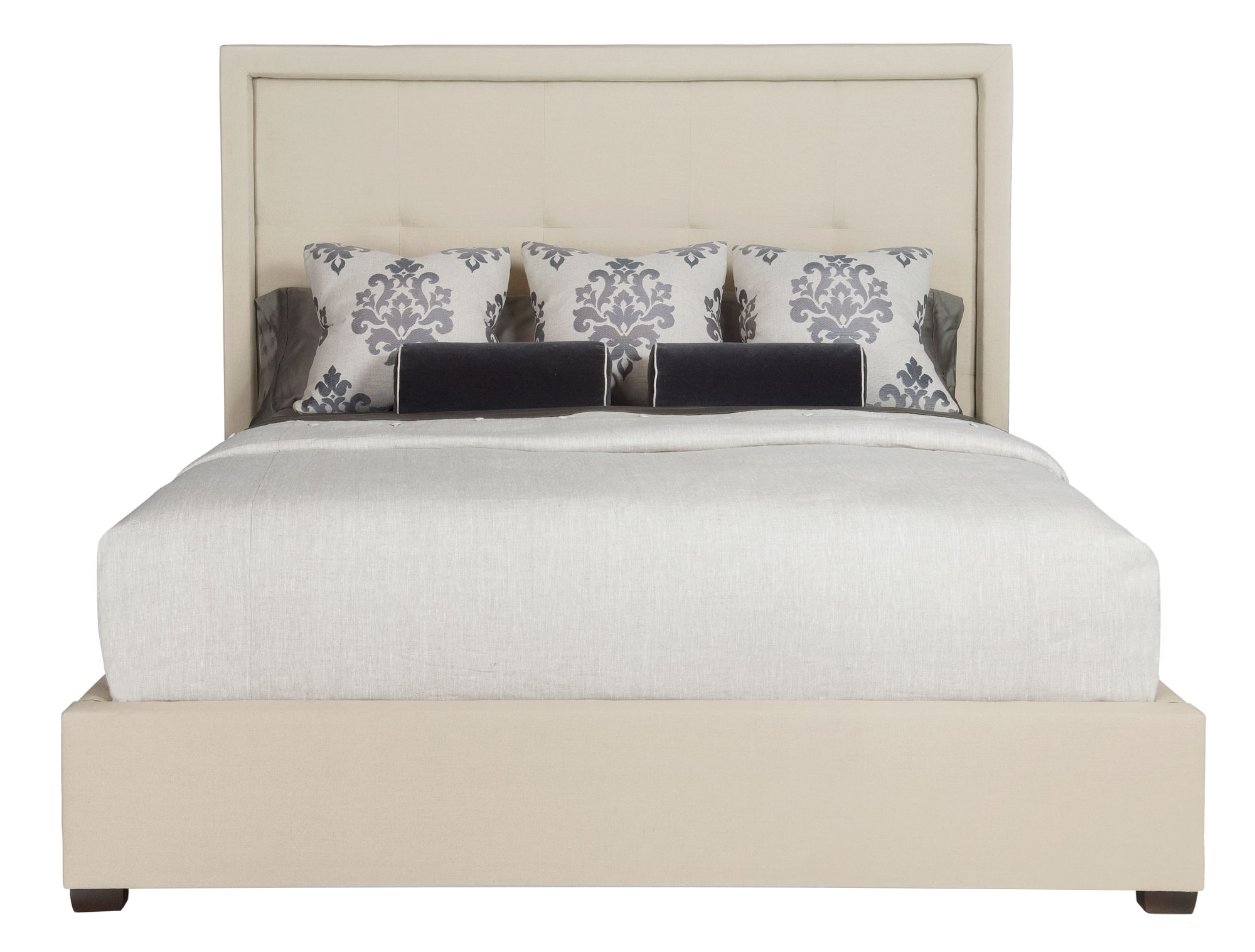 Upholstered bed bernhardt for Bernhardt furniture