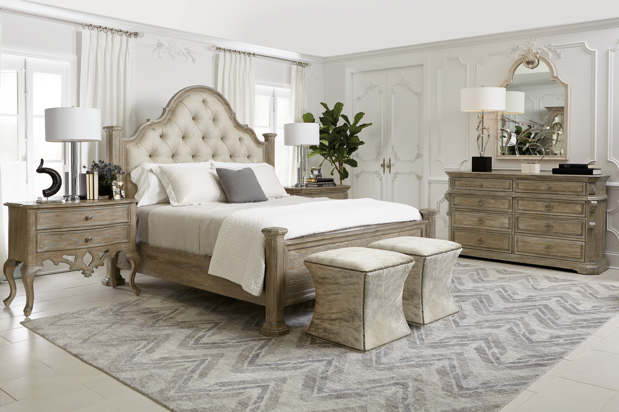 Campania bedroom bernhardt for Bernhardt furniture