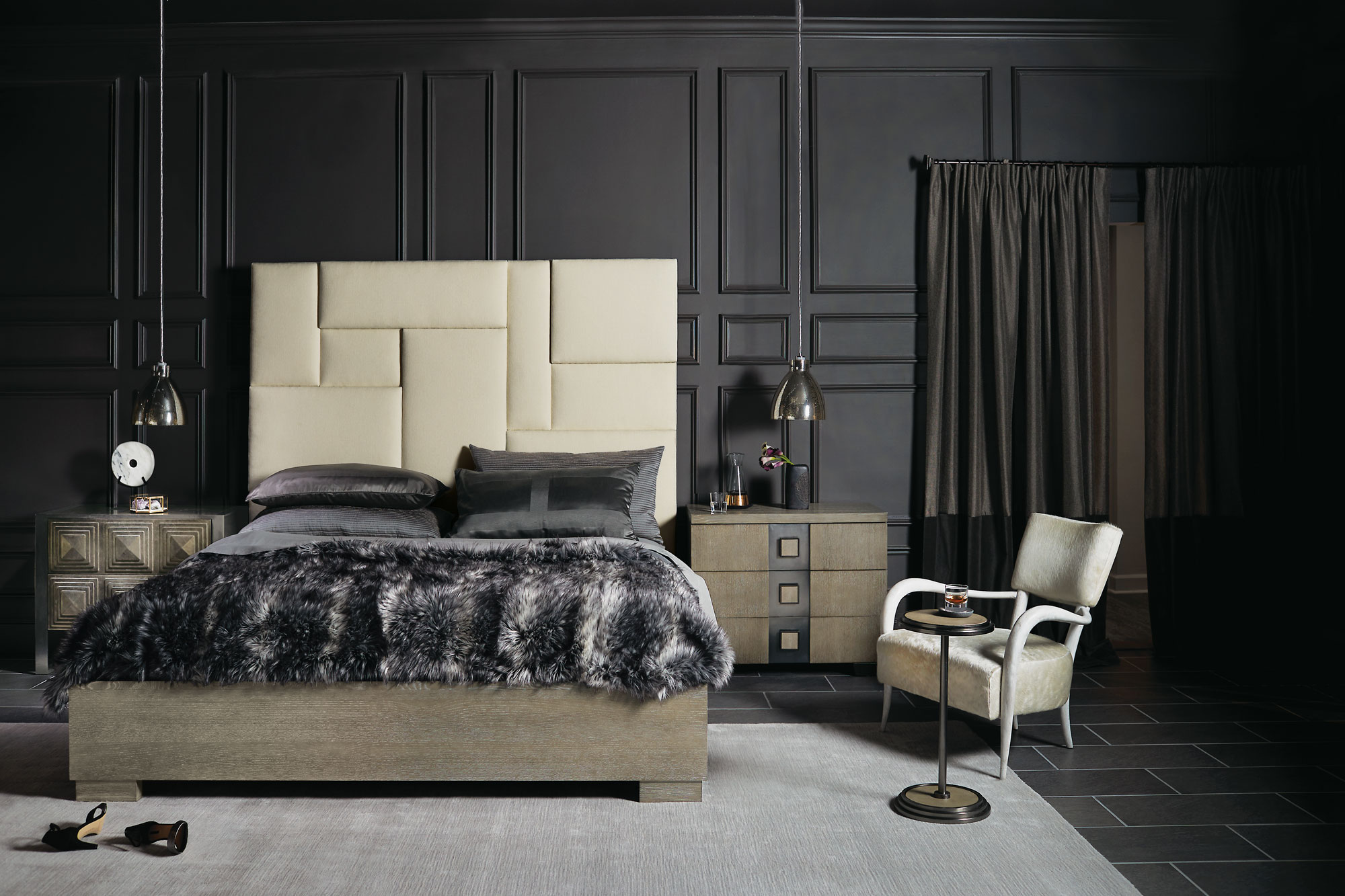 Mosaic Bedroom Bernhardt