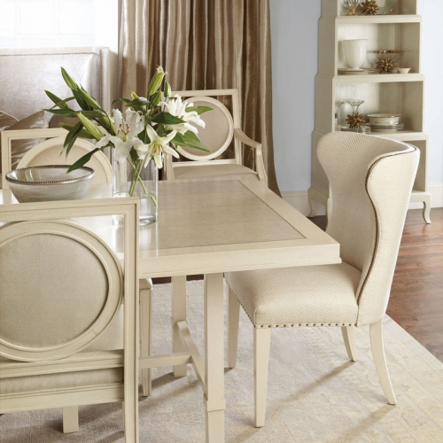 Upholstered Wing Dining Chair