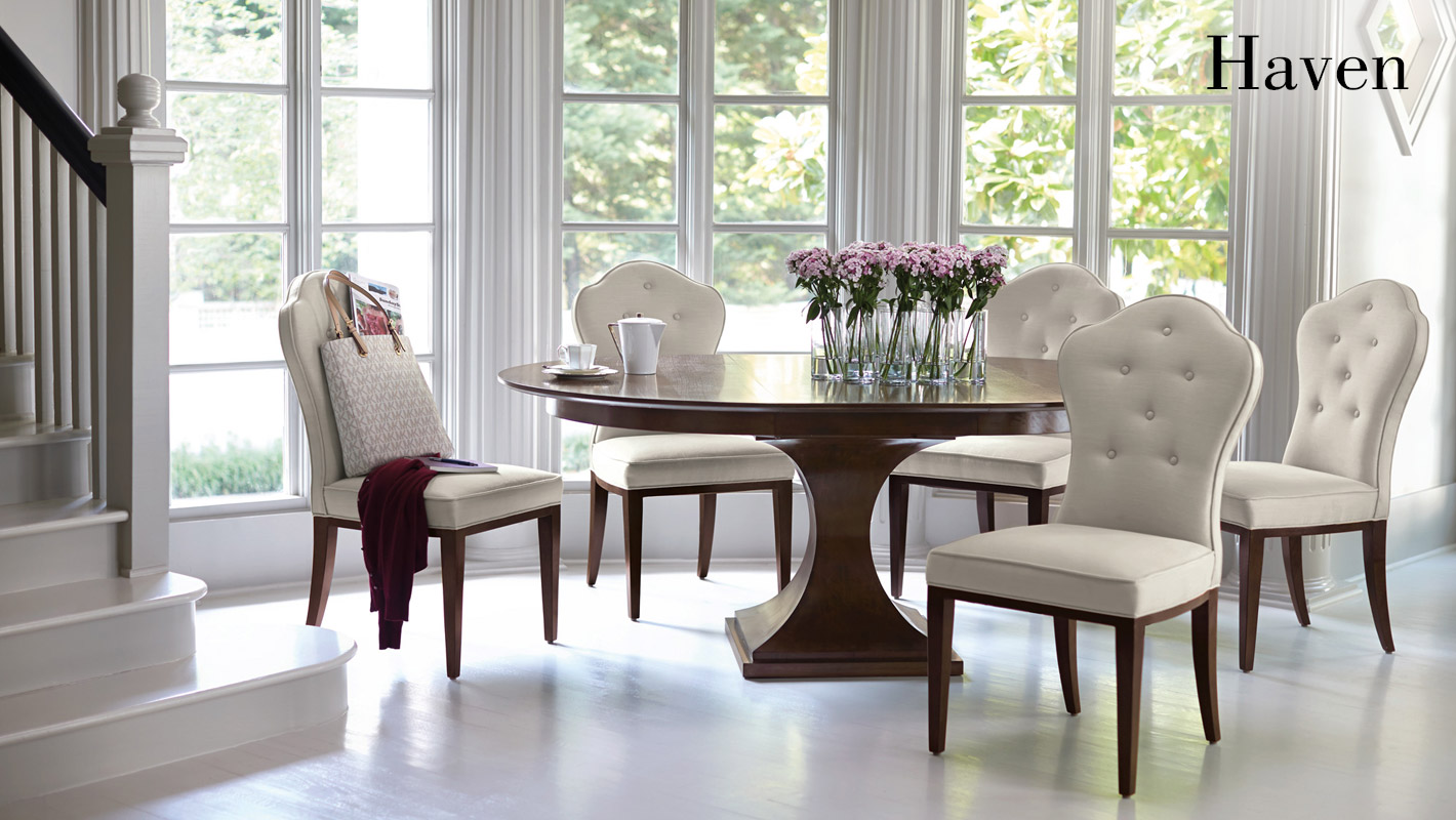 Haven dining room items bernhardt
