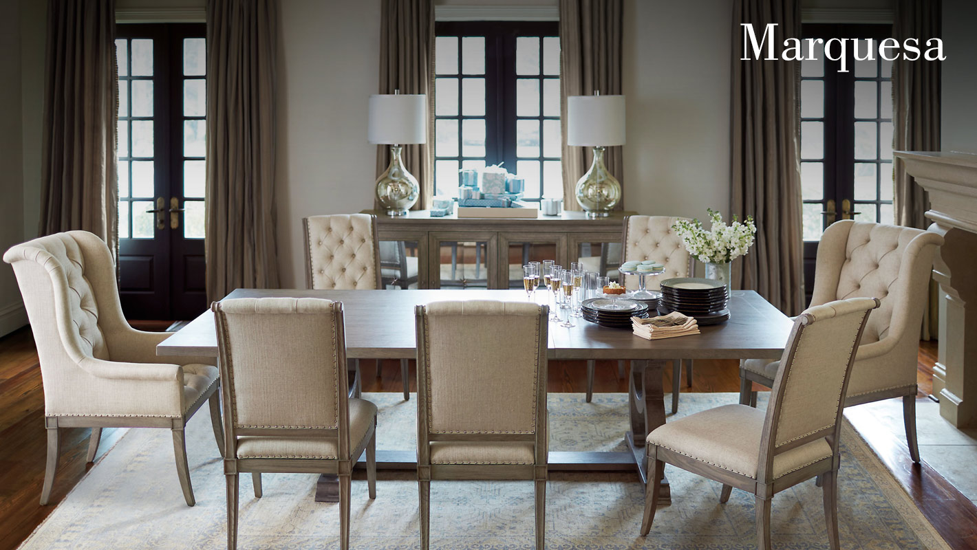 Marquesa dining room items bernhardt