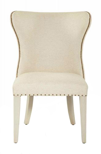Upholstered Wing Dining Chair Bernhardt