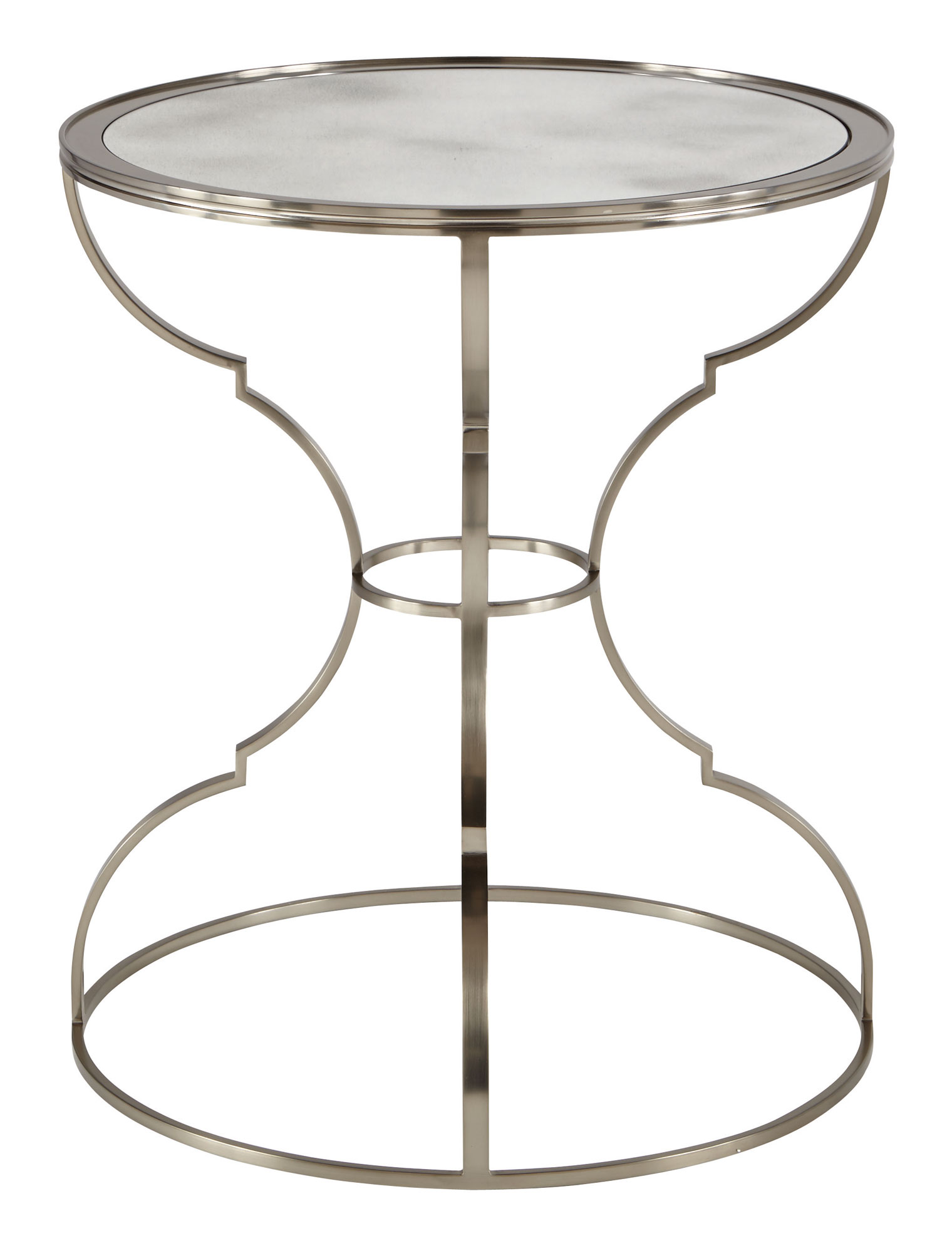 Round Metal End Table Bernhardt