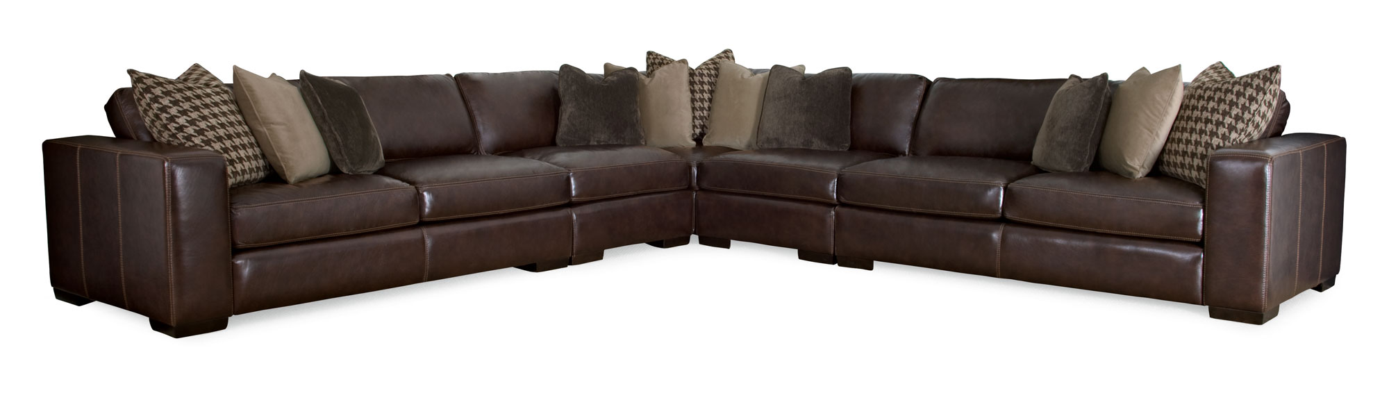 Dorian Sectional  sc 1 st  Bernhardt Furniture Company : leather sectional couch - Sectionals, Sofas & Couches