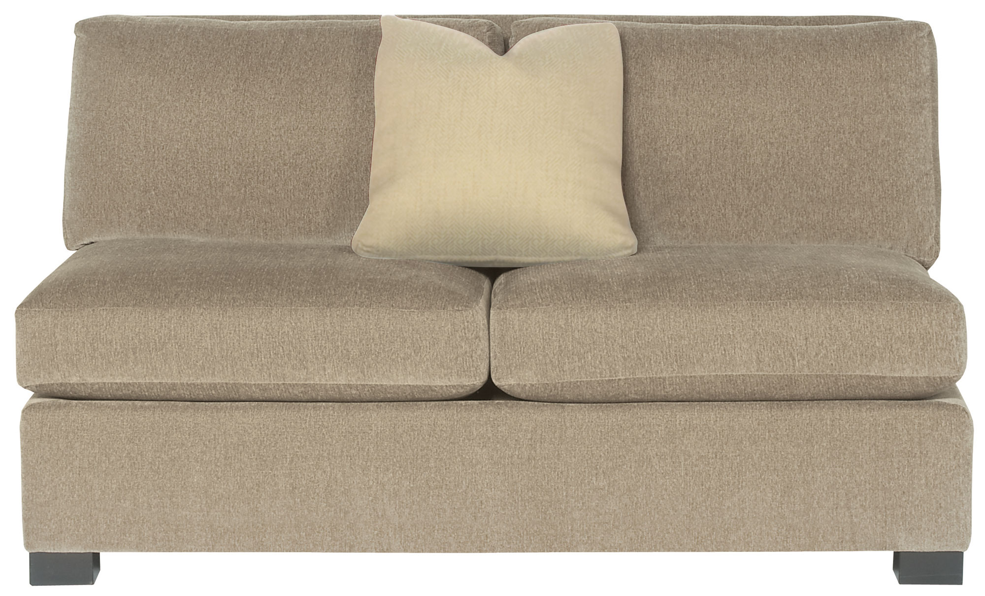 loveseat bernhardt kelsey product armless sectionals