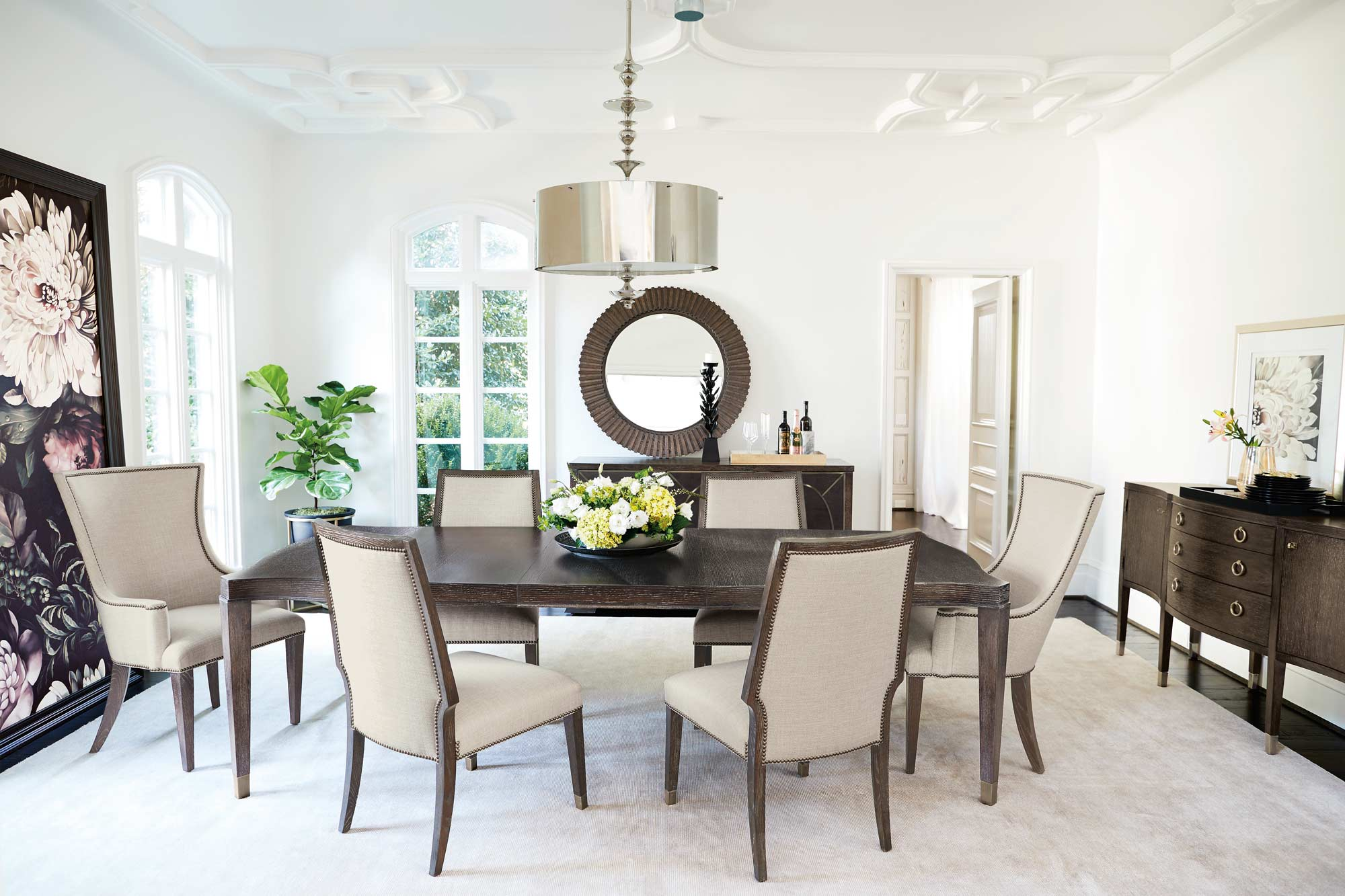 decorate dinning room dining decorating furniture contemporary design ideas modern