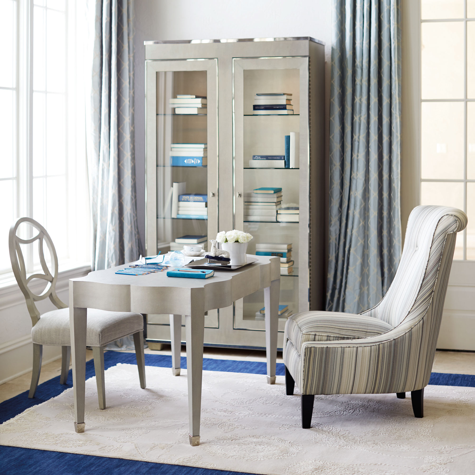Beau Criteria Desk And Selby Chair