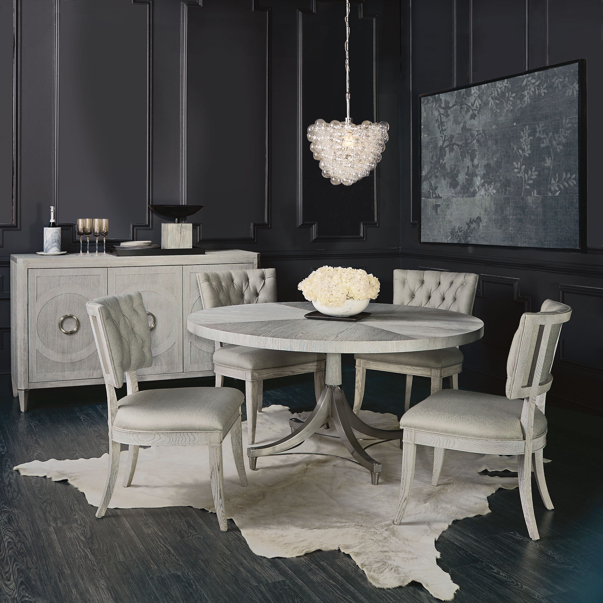 Kitchen Furniture Yerevan: Domaine Blanc Dining Room