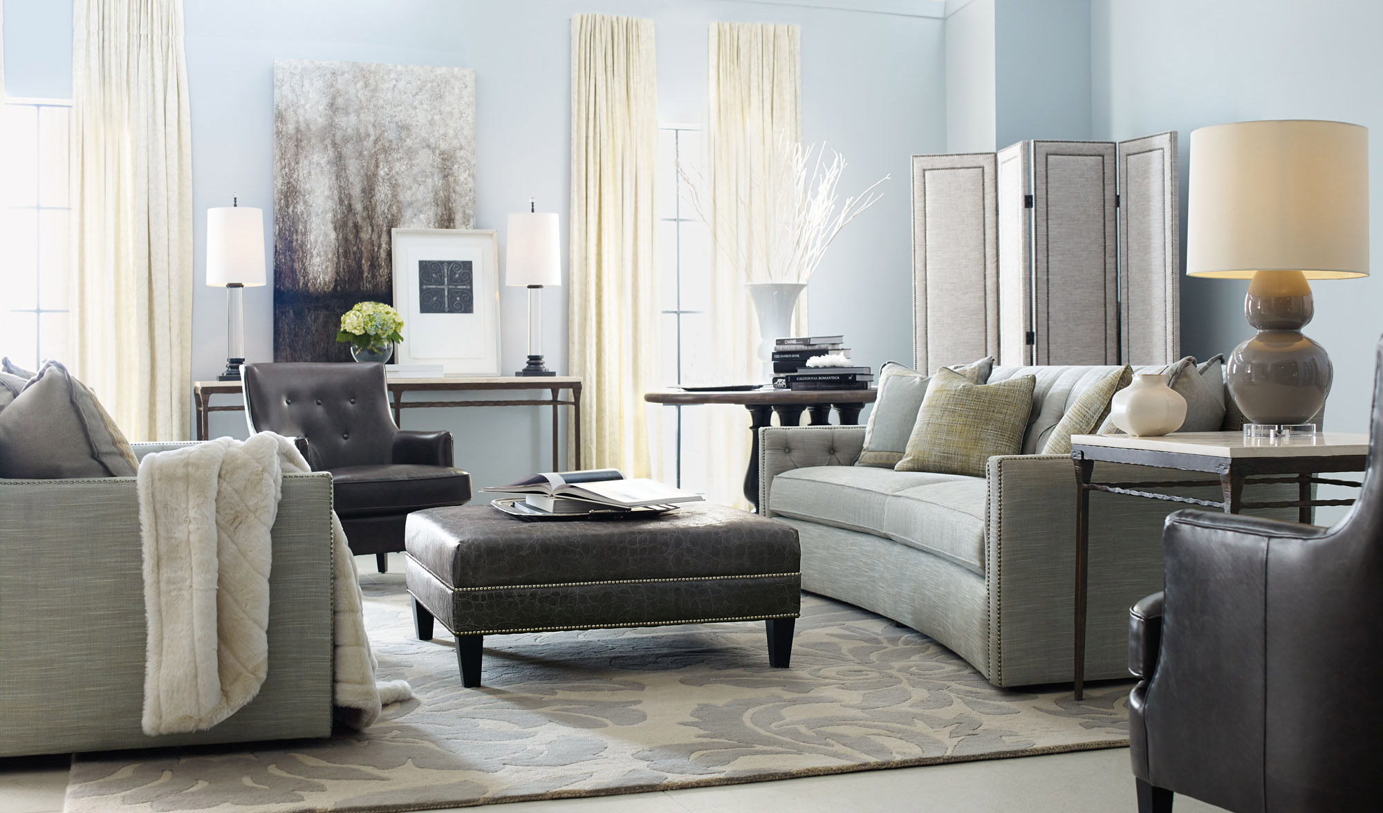 home goods living room ferrell rancho desmond rialto living room bernhardt 14025