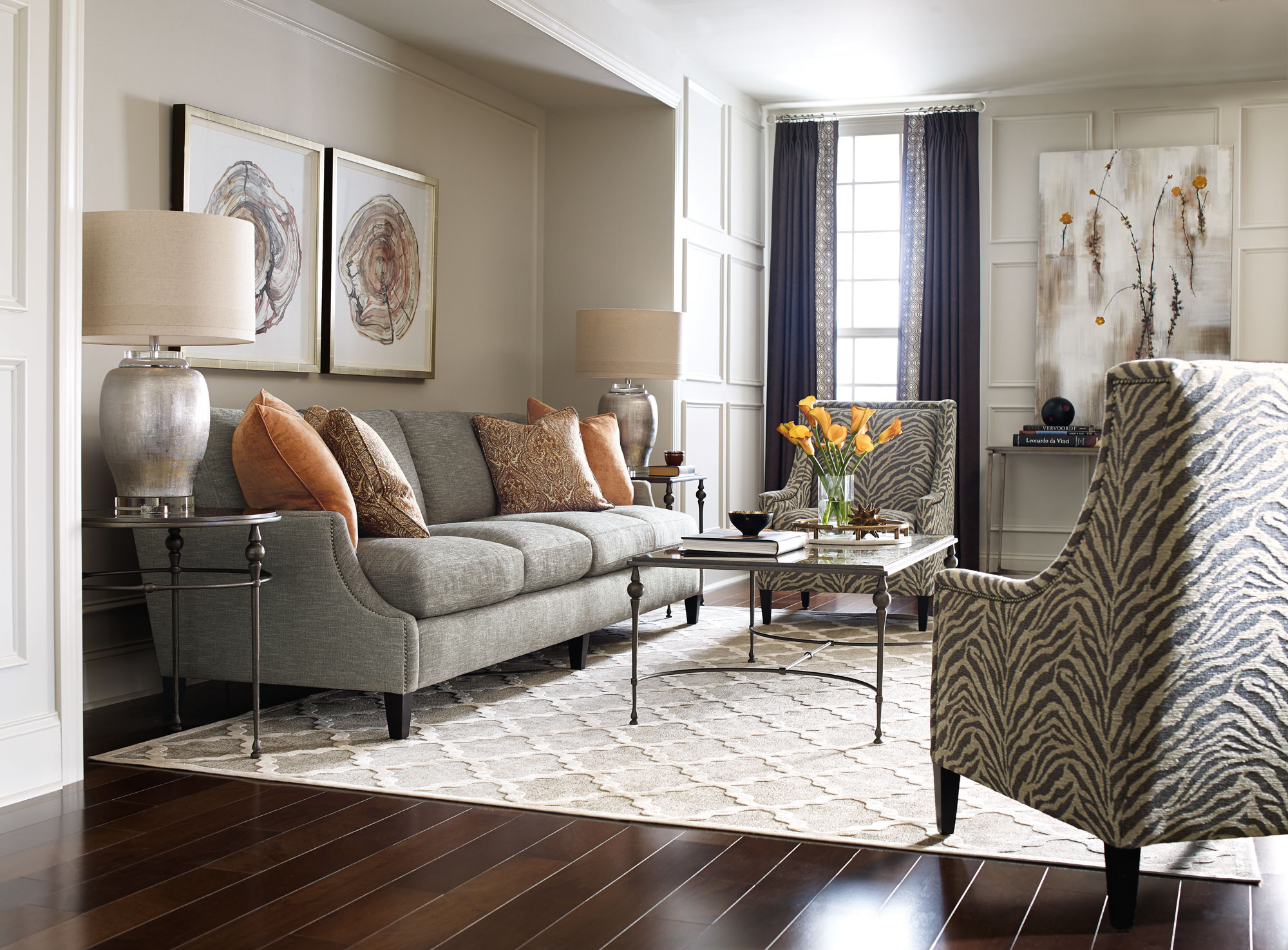 Tristan Newland Crawford Mindy Living Room Bernhardt