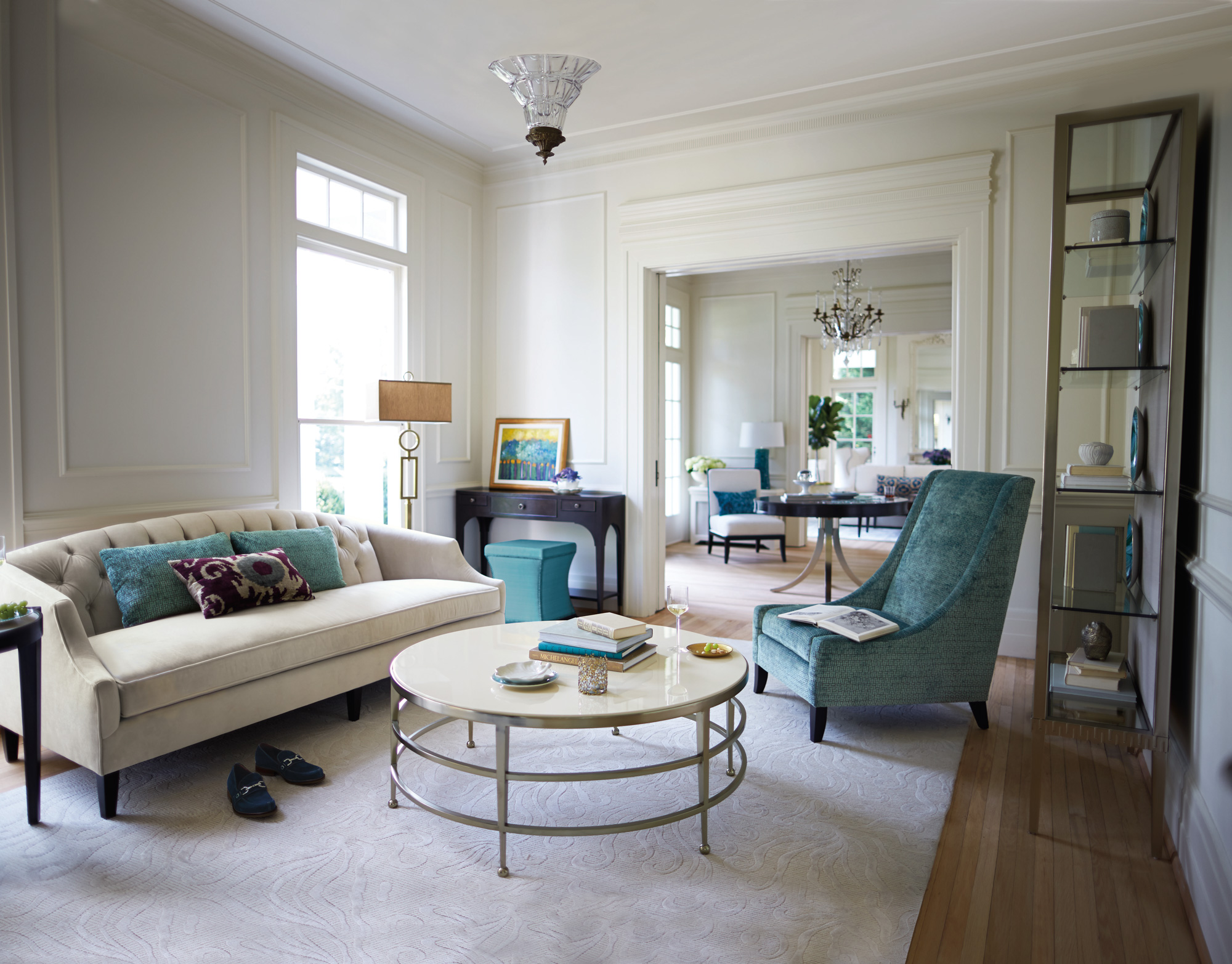Haven Leyden Diane Living Room Bernhardt