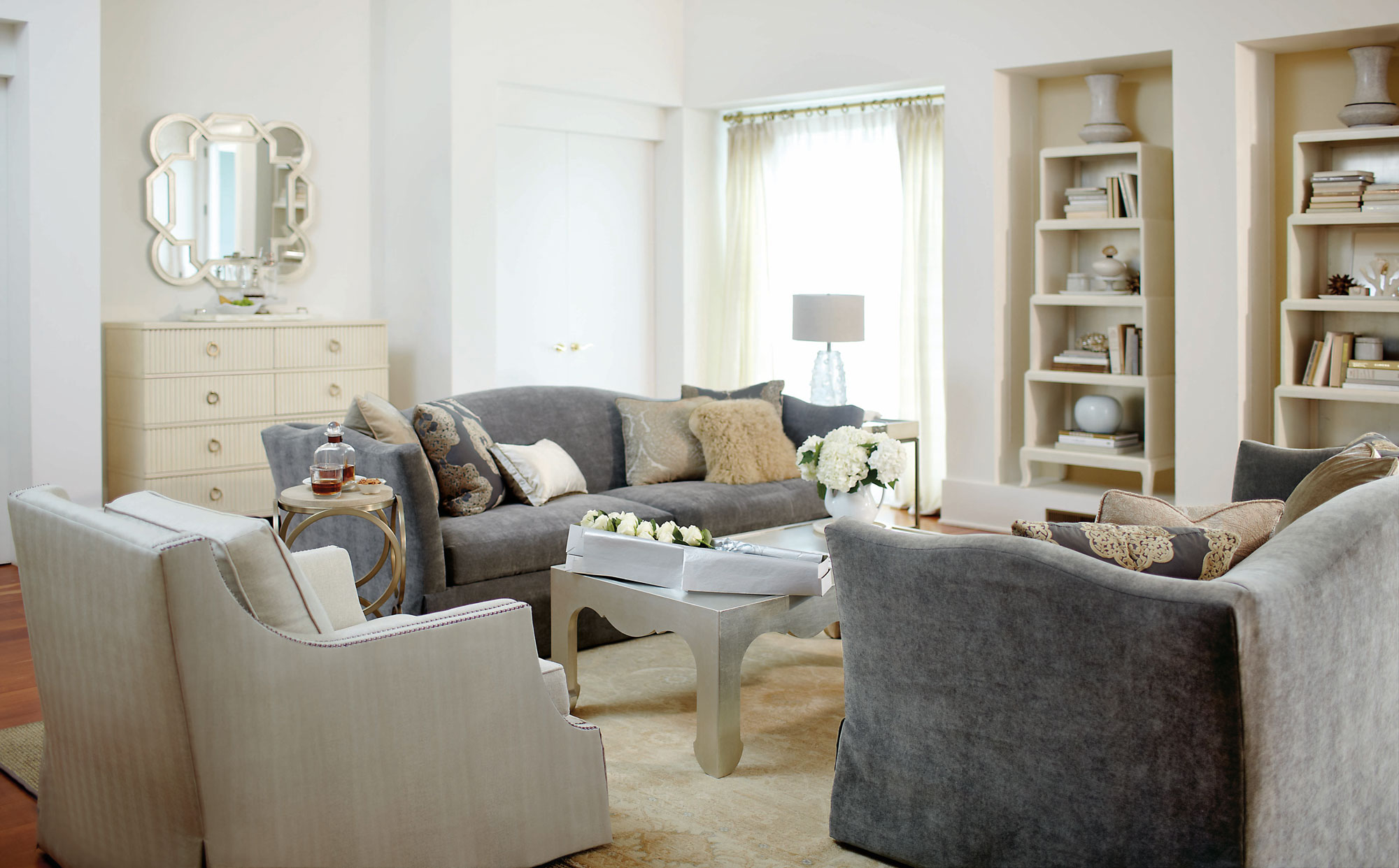 Salon Laurel Living Room | Bernhardt