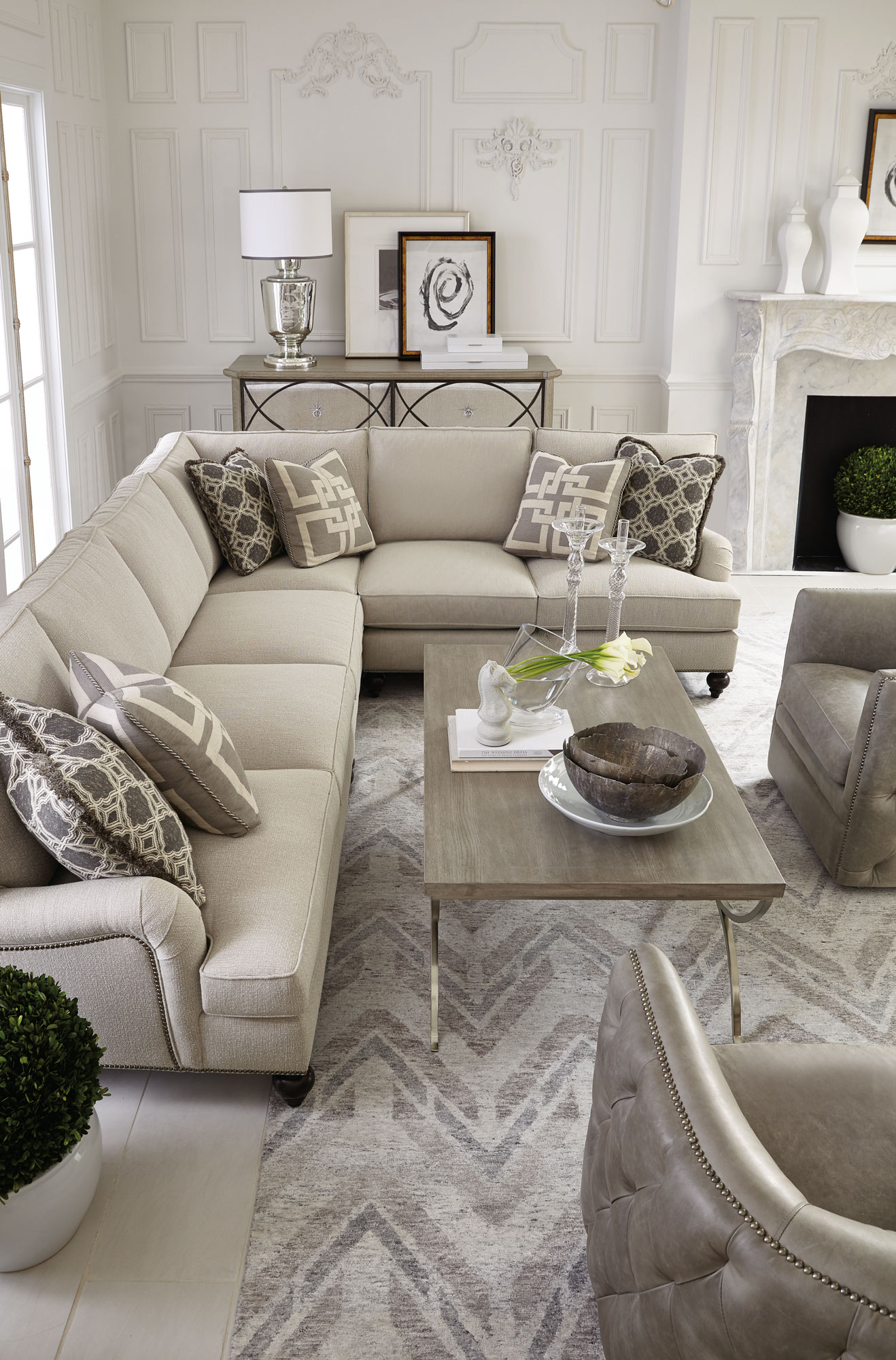 Marquesa Palazzo Signature Seating Living Room | Bernhardt