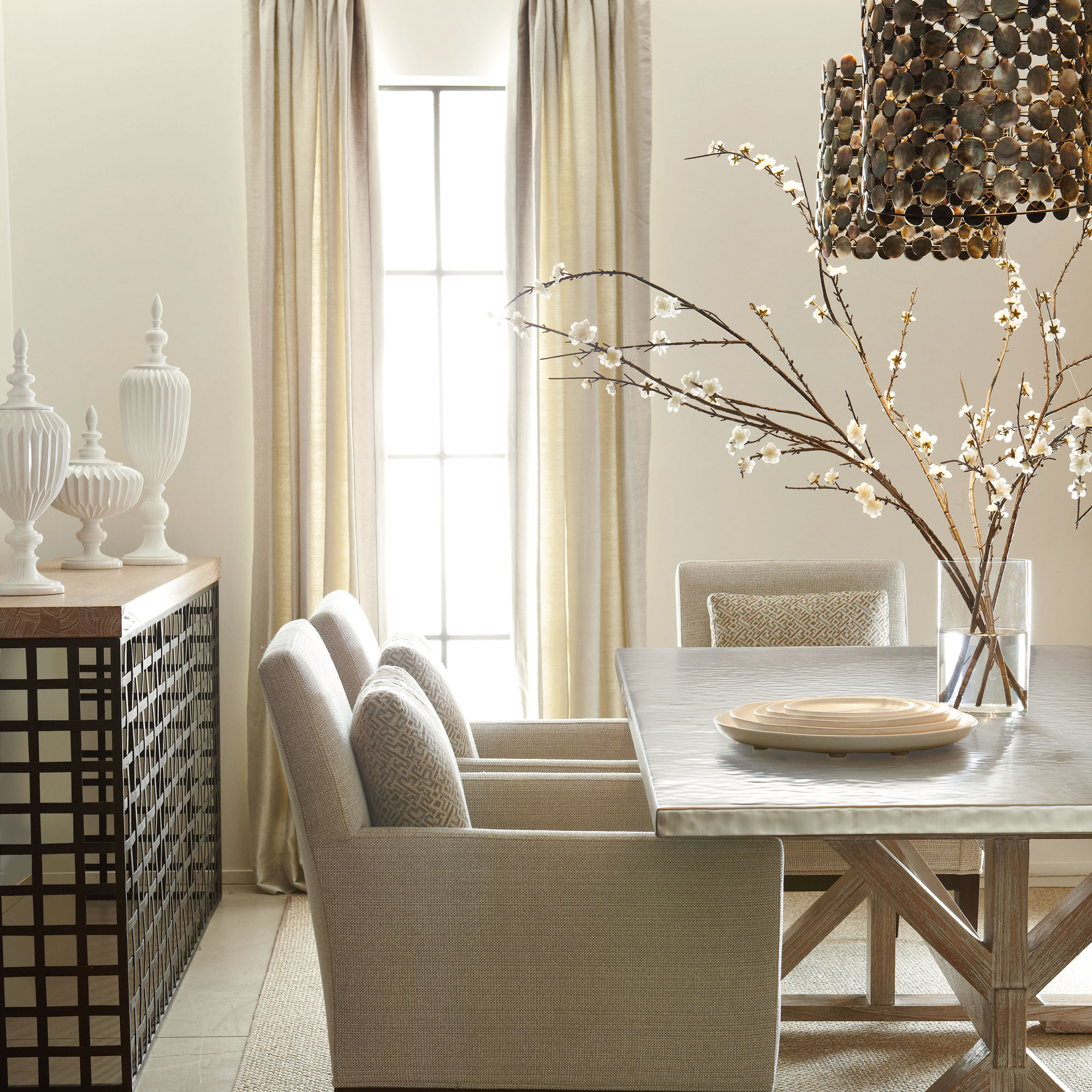 calypso quentin ridley dining room | bernhardt