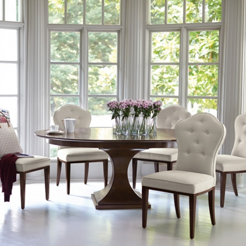 FEATURING THIS PRODUCT - Round Dining Table Bernhardt