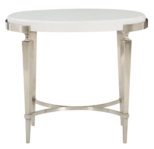 Demilune console table bernhardt - Table console blanc laque ...